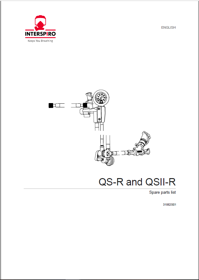 Firefighting - Module 2-2 - Spare parts & Service kits for QS-R / QS II-R regulator unit