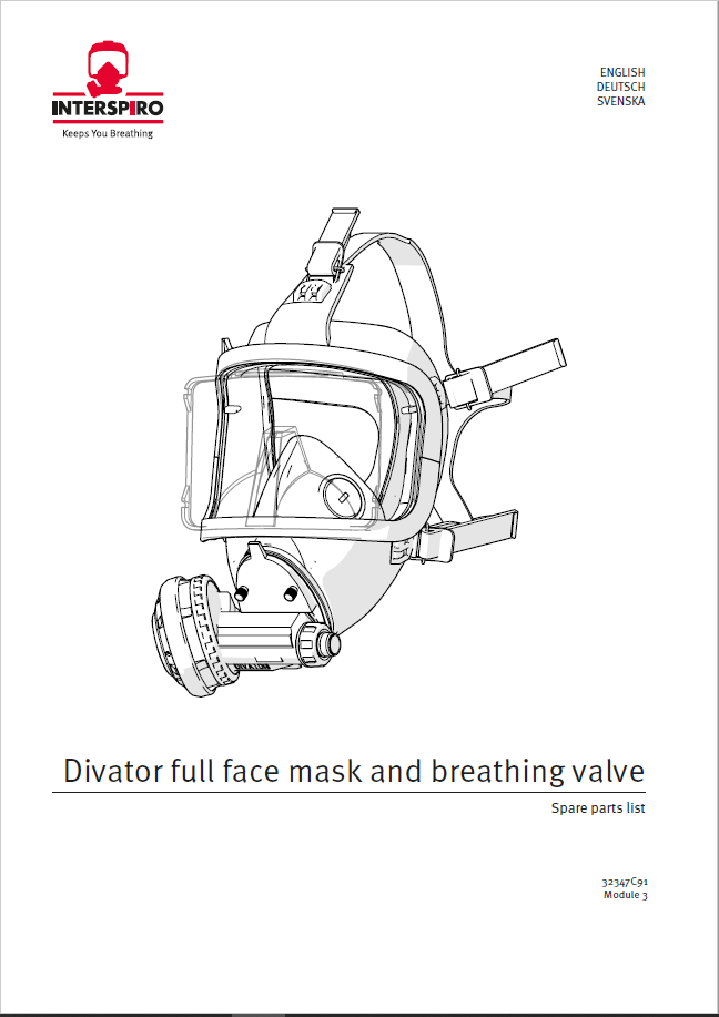 Diving - Module 3-1 - Spare parts & Service kits for Full Face Mask & BV