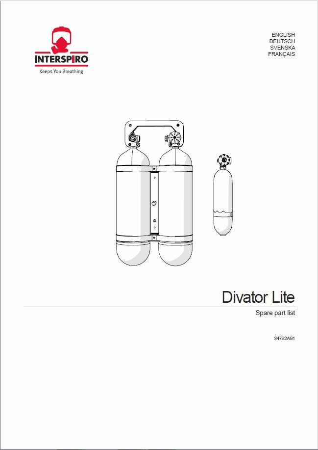 Cylinders - Spare parts & Service kits for Divator Lite
