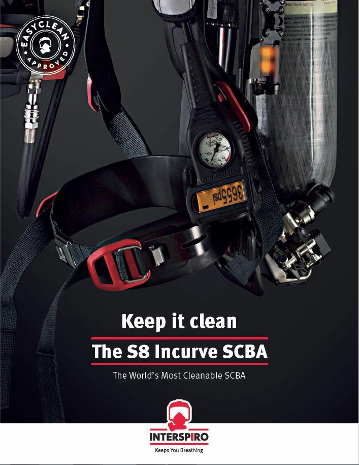 Keep it clean - The S8 Incurve SCBA US-version - folder