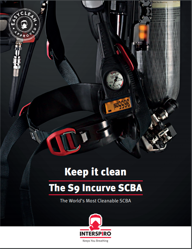 Keep it clean - The S9 Incurve SCBA US-version - folder