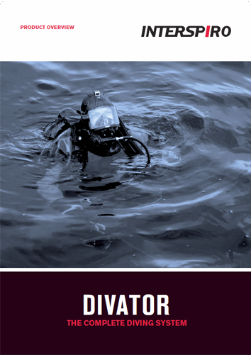 Diving catalog - Divator the complete diving system