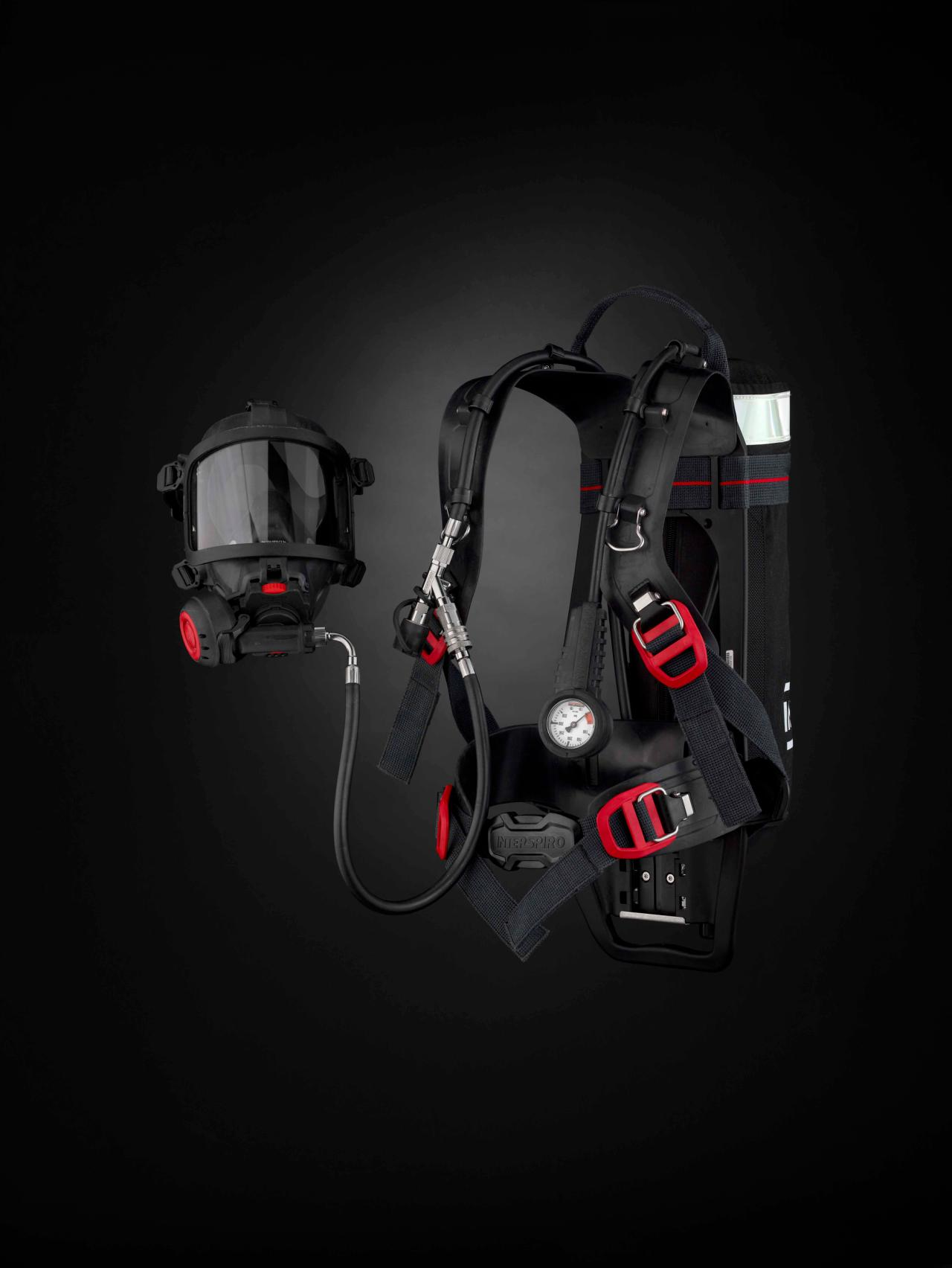 Presentational product images - Respire Incurve SCBA