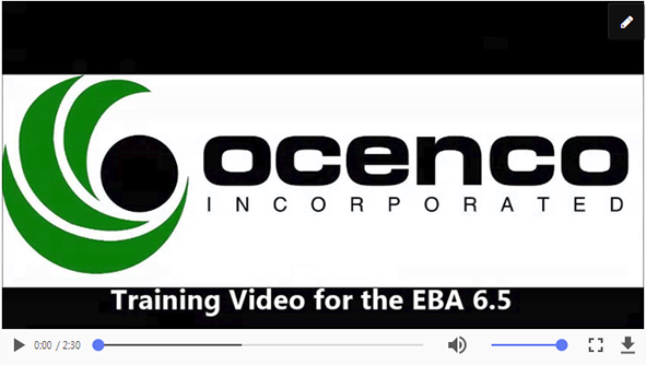 Training Video EBA 6.5 in MP4 format