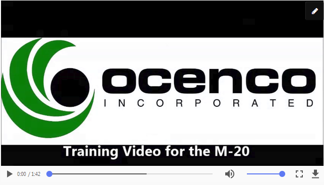 Training Video M-20 in MP4 format